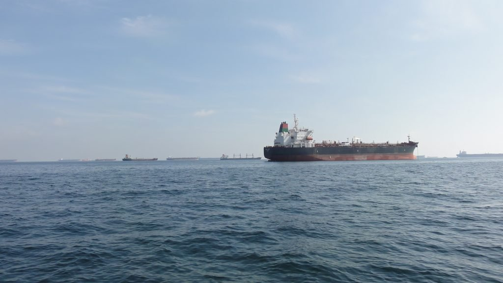 a look at the oil tankers near Fujairah
